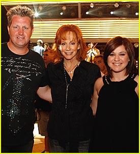 Kelly Clarkson @ ACMs 2007 Rehearsals