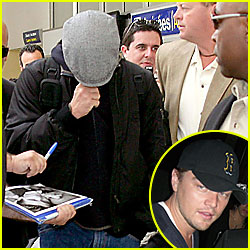 DiCaprio Covers Up 'Till Cannes