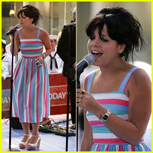 A Heart Of Glass For Lily Allen