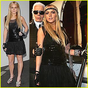 Lindsay Lohan @ Chanel Cruise Show 2007/8