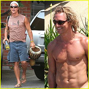Matthew McConaughey : ses photos de nu volées et
