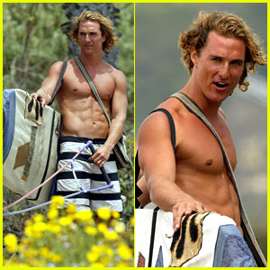 Surf's Up For McConaughey
