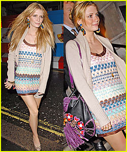 Mischa Barton's Late Night in London