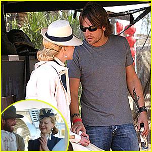 Nicole & Hugh: Back on 'Australia' Set