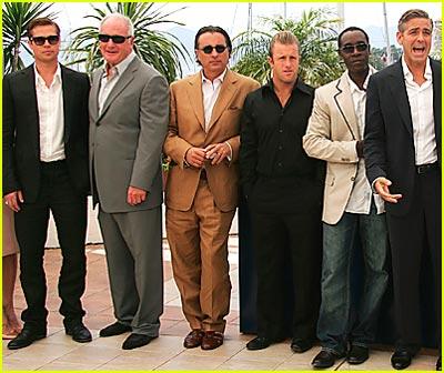 Ocean's 13 Cast Storms Cannes