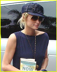 Paris Hilton Reads the Bible