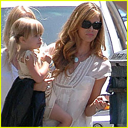 Denise Richards: Daughter Day Out