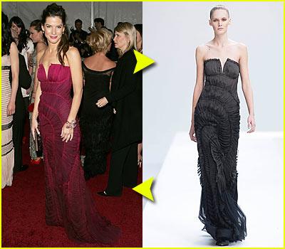 Sandra Bullock @ Costume Institute 2007