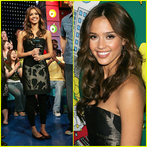 Jessica Alba Holds Down the Requests