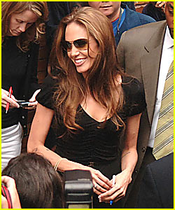 Angelina Jolie @ The Daily Show
