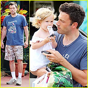 Violet Affleck: Daddy-and-Me Time!