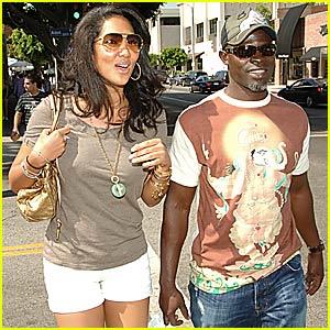 Kimora & Djimon are the New Demi & Ashton
