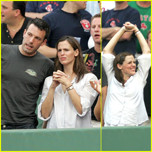 Seventh Inning Stretch for Affleck and Garner