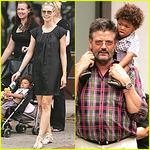 Heidi Klum's Friday Fun with Father