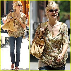 Heidi Klum Shops Balenciaga