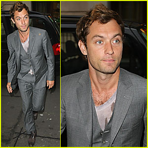 Jude Law is Michael Caine's Mini-Me