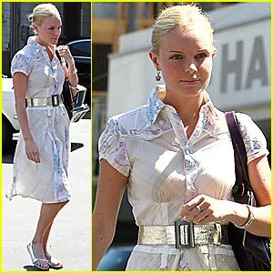 Kate Bosworth: Workin' at the Car Wash