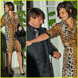 Katie Holmes -- Now With Super Short Hair!