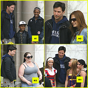 Keanu Reeves: Lunch Interrupted (x5)