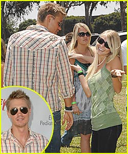 Chad Michael Murray and His Young Love