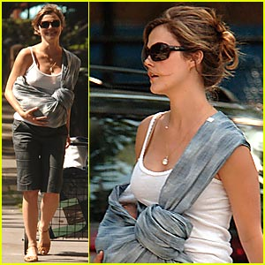 River Deary: First Pictures of Keri Russell's Son