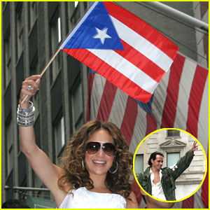 Jennifer Lopez Shows Off Some Puerto Rican Pride