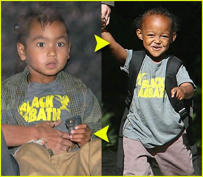 Maddox & Zahara Share Clothes!