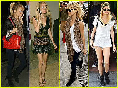 Nicole Richie's Revolving Door of Fashion