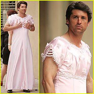 Patrick Dempsey is a Cross-dresser