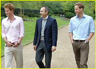 Princes William & Harry Hit American Airwaves