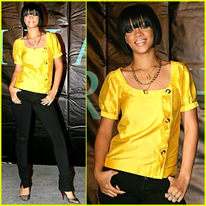Rihanna: Bad Gal's New Bangs