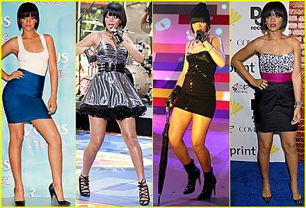 Rihanna: Celebrity Legs of a Goddess