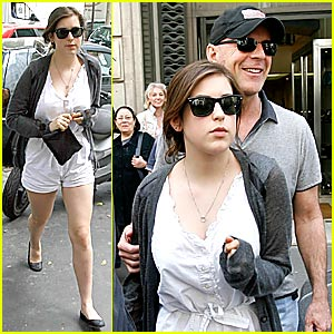 Bruce Willis' Daddy-Daugther Day