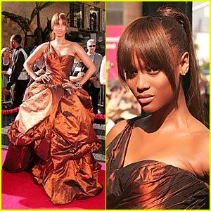 Tyra Banks @ Daytime Emmy Awards 2007