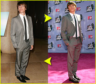 Zac Efron: Same Suit, Different Day