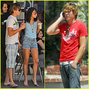 Zanessa Bops to the Top