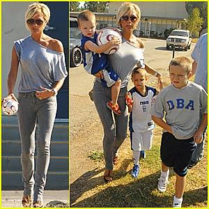 The Beckham Boys @ Soccer Practice