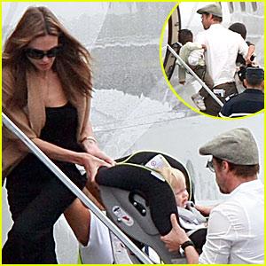 Brad & Angelina Jet Outta Angouleme