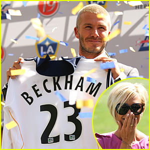 Becks Inducted into LA Galaxy