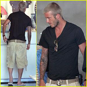 David Beckham's ADIDAS Store Stop