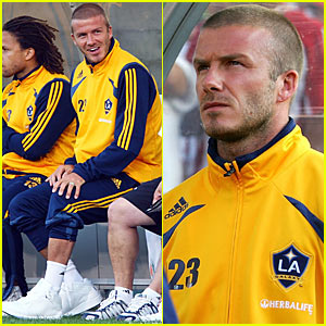 David Beckham is Benched