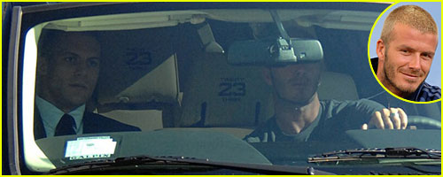 David Beckham's Customized Lincoln Navigator