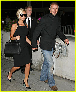 Welcome the Beckhams to America!