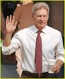 Harrison Ford @ 'Indiana Jones 4' Movie Set