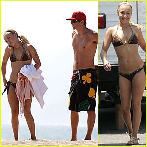 Hayden Panettiere is a Bikini Babe