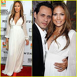 Jennifer Lopez Dons Angelic White