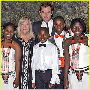 Jude Law & The Young Zulu Warriors