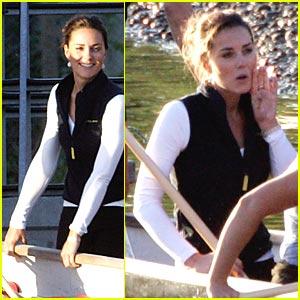 Kate Middleton: Row, Row, Row Your Boat