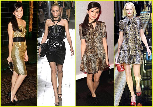 Katie Leung Rocks Runway Fashions