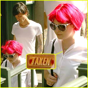 Kelly Osbourne is TAKEN